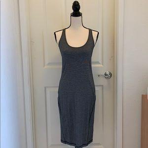 Lululemon Navy Open Back Dress, 6